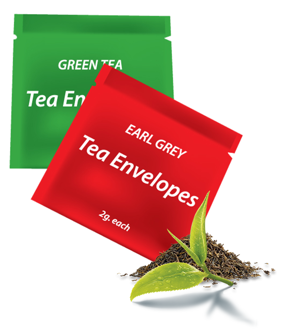 Tea Bag Machine Envelopes